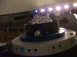 日立シビックセンターのプラネタリウム投影器
